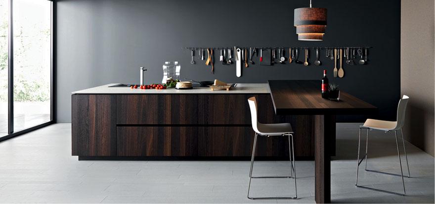 cucine moderne alba, cucine con gola, cucine cesar alba, cucine ... - Cucine In Legno Massello Moderne