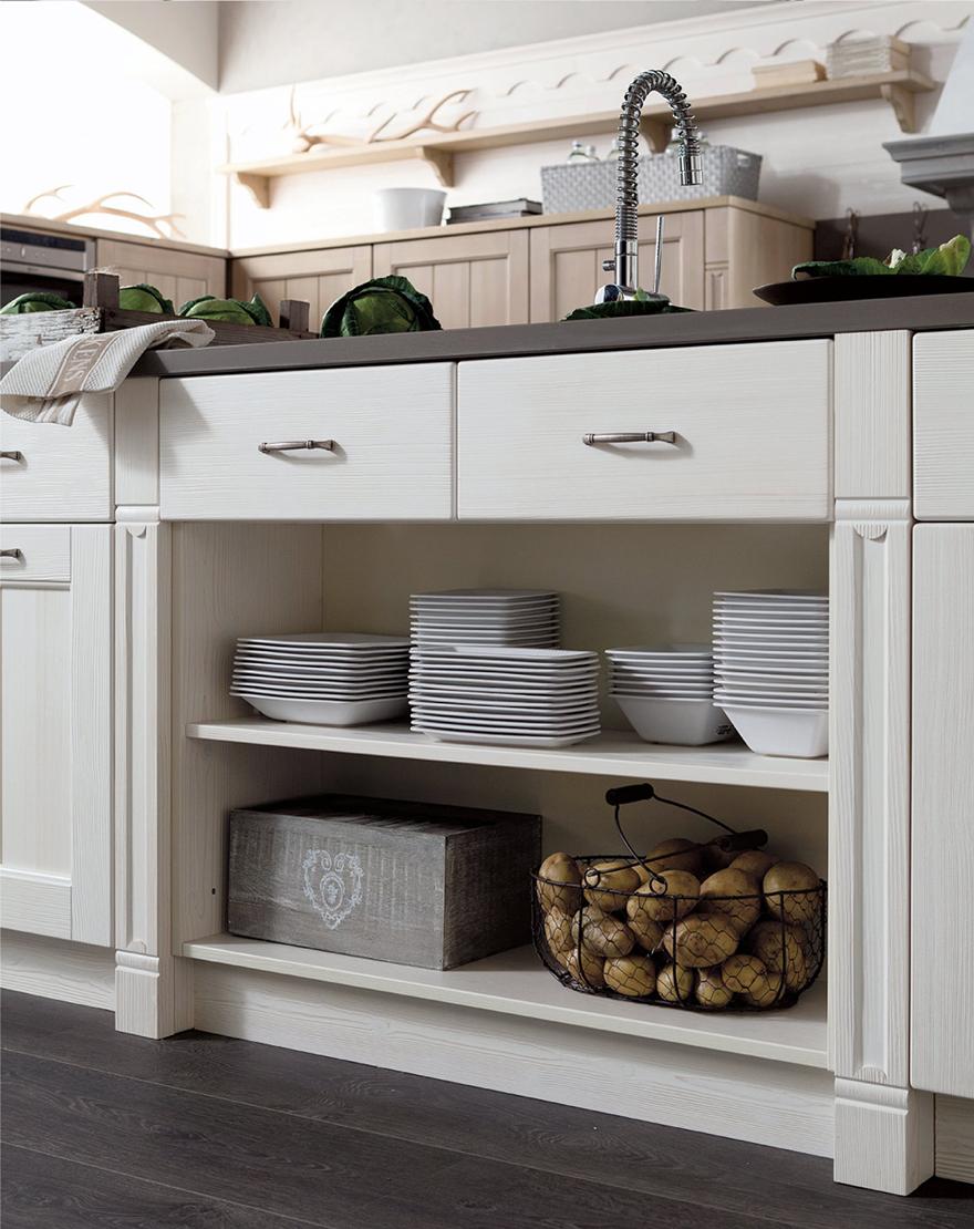Parete attrezzata arte povera mondo convenienza - Ikea mobili cucina dispensa ...