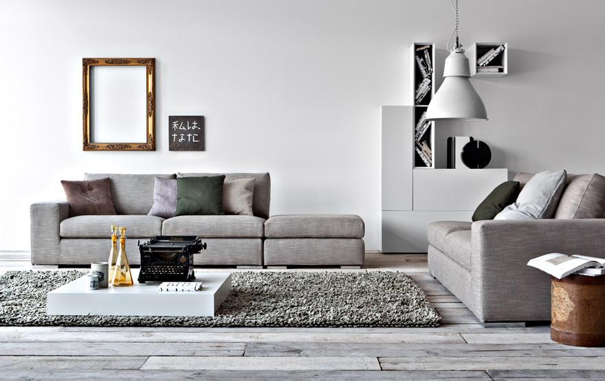 Progettazione pareti soggiorno Jesse, Pianca, Marchetti, mobili da ...