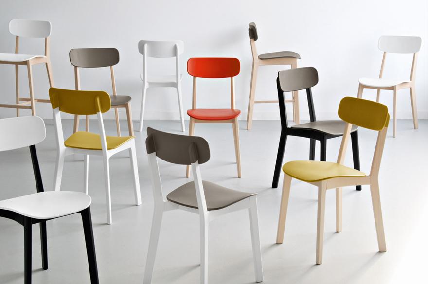 Punti vendita calligaris alba tavoli e sedie alba - Chaise pour table 90 cm ...